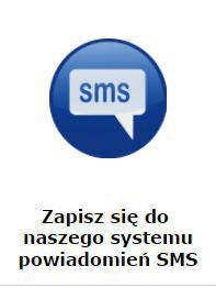 Zapis do systemu powiadomień SMS